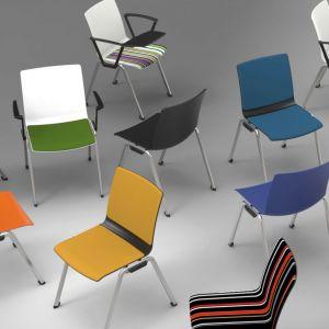 Krzesła MDD Shila. Mat. prasowe
