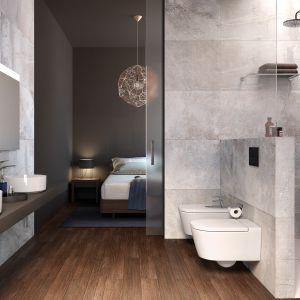 Umywalki Inspira o niezwykle cienkich ściankach zaskakują świeżą formą i lekkością. Wersje round, soft i square dają wiele możliwości aranżacyjnych. Fot. Roca