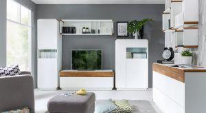 Białe meble z elementami naturalnego drewna to znak rozpoznawczy najnowszej kolekcji Elis. Ta stylowa kombinacja jest dobrą propozycją dla zwolenników współczesnej elegancji i prostoty.