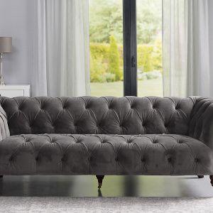 Sofa Chesterfield Glamour. Fot. Dekoria.pl