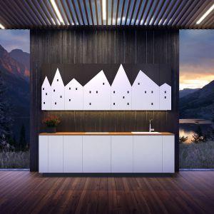 Seria frontów kuchennych Houses/Ilusi. Produkt zgłoszony do konkursu Dobry Design 2018.