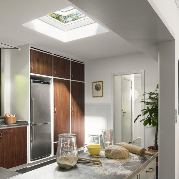 Okno do płaskiego dachu ze Sferycznym Modułem Szklanym/VELUX