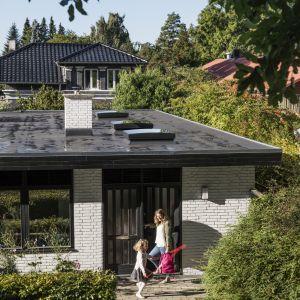 Okno do płaskiego dachu ze sferycznym modułem szklanym/Velux. Produkt zgłoszony do konkursu Dobry Design 2018.