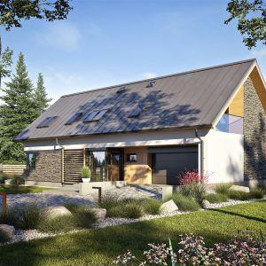 Prosta bryła budynku sprawi, że dom wkomponuje się w każdą działkę. Dom Nikolas II G2 Energo Plus. Projekt: arch. Artur Wójciak. Fot. Pracownia Projektowa Archipelag