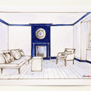 Kolor we wnętrzu: komponowanie spójnej kolorystyki w mieszkaniu. Fot. Pani to potrafi
