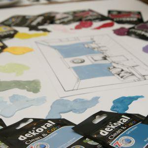 Kolor we wnętrzu: komponowanie spójnej kolorystyki w mieszkaniu. Fot. Dekoral