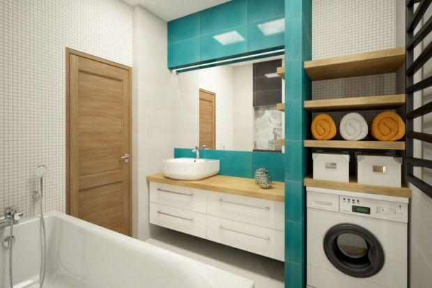 Łazienka z pralką: sposoby na zabudowę