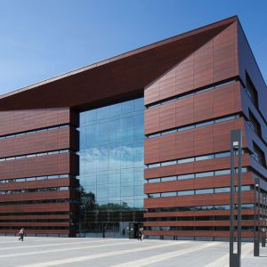 Budynek w budynku, czyli Narodowe Forum Muzyki we Wrocławiu fot. Kuryłowicz & Associates