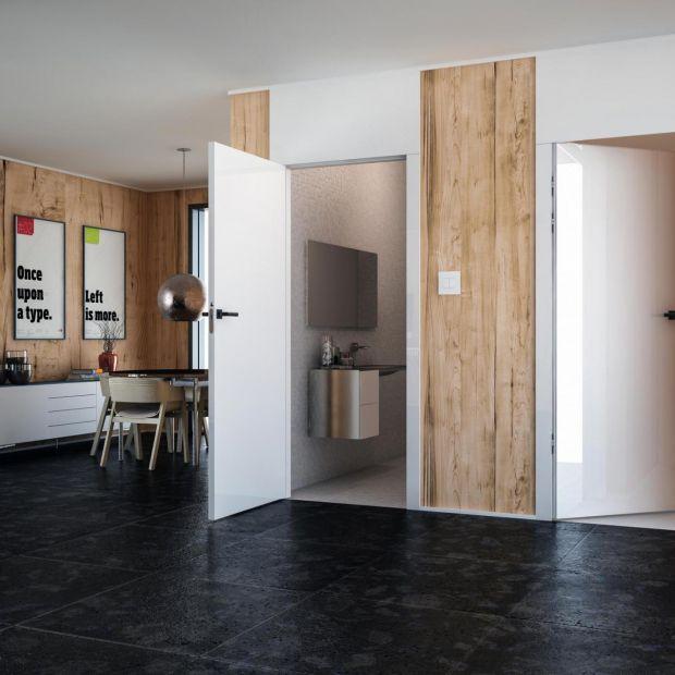 Drzwi wewnętrzne - piękne modele w białym kolorze