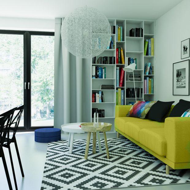 Mieszkanie w minimalistycznym stylu - zobacz gotowy projekt