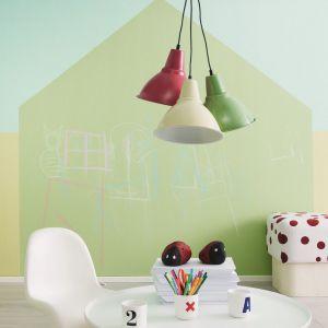 Farby tablicowe dostępne są w wielu ciekawych kolorach. Fot. Tikkurila