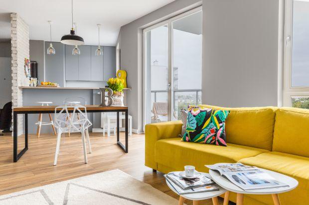 Jasne mieszkanie - piękne wnętrze dla młodej rodziny