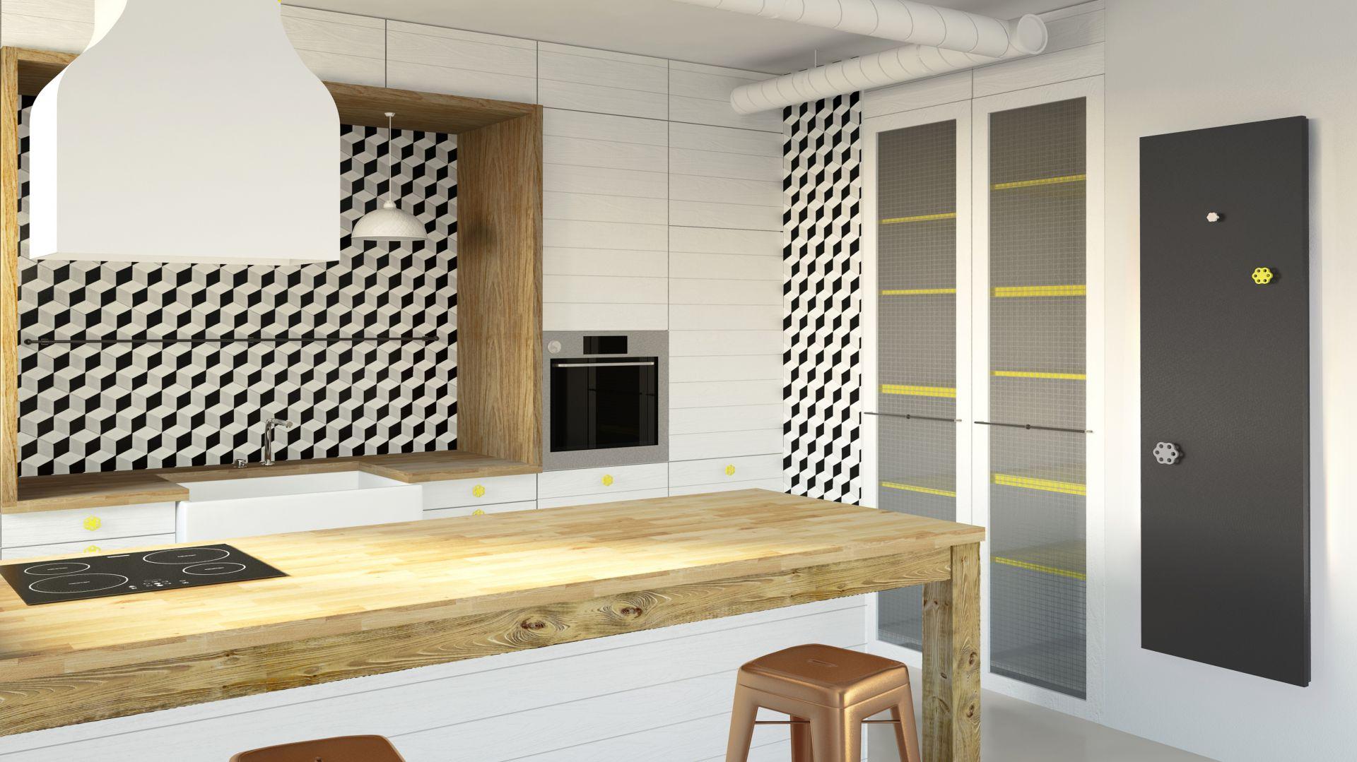 Grzejnik Inventio & uchwyt Mua Fi/Instal-Projekt. Produkt zgłoszony do konkursu Dobry Design 2018.
