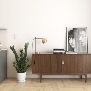 Mieszkanie o pow. 70 m kw. w stylu skandynawskim z podłogami FertigParkiet. Fot.  Jawor-Parkiet