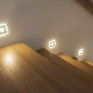 Oświetlenie schodów. Fot. Britop Lighting