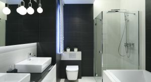 Coraz częściej rezygnujemy z wanny na rzecz prysznica. Jak urządzić modną i wygodną łazienkę z kabiną prysznicową? Zobaczcie pomysły architektów.