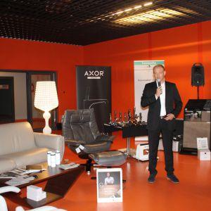 Robert Modzelewski, dyrektor sprzedaży Europa Środkowo-Wschodnia i Szwecja marki Ter Hurne, której wyłącznym przedstawicielem jest firma Olga Manufaktura Drewna