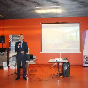 Marcin Pietrzyk reprezentujący markę CAD Decor PRO (CAD Projekt K&A)