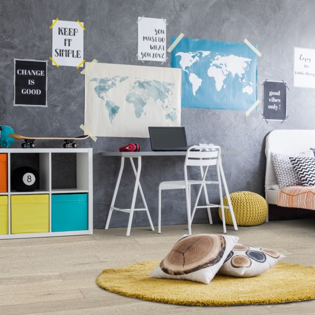 Pokój dla ucznia - wybieramy podłogi