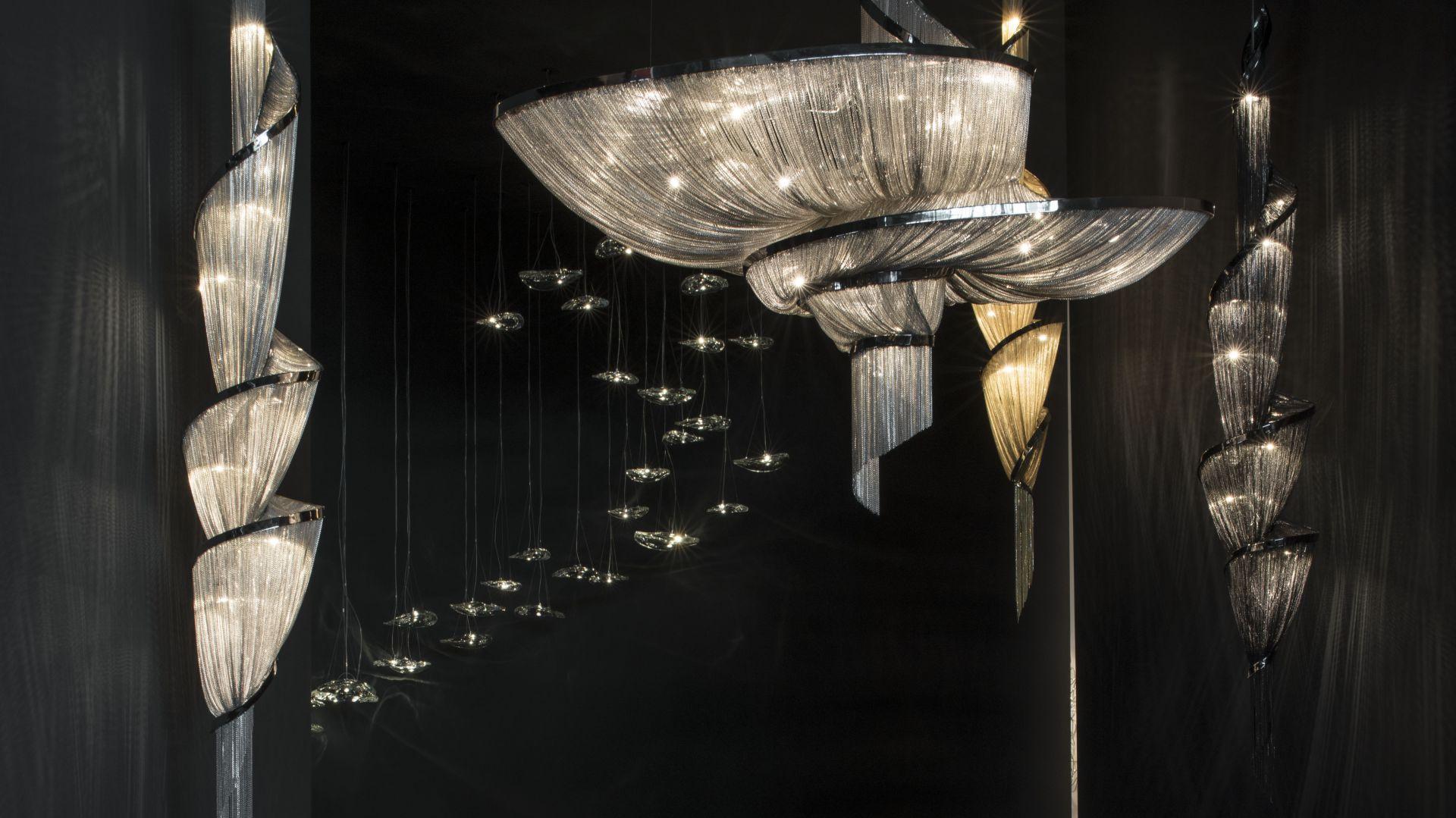 Lampy Manta włoskiej marki Terzani. Projekt: Dodo Arslan i Nicolas Terzani. Fot. Terzani / Galeria Heban