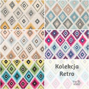 Kolekcja Retro/Toptextil. Produkt zgłoszony do konkursu Dobry Design 2018.