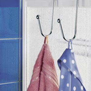 Półka łazienkowa Wenko, regał pod prysznic, 3 poziomy. Fot. Emako.pl