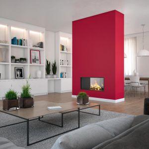Według psychologa czerwień sprzyja namiętności, warto więc wykorzystać odrobinę jej mocy we wspólnym mieszkaniu. Fot. Beckers