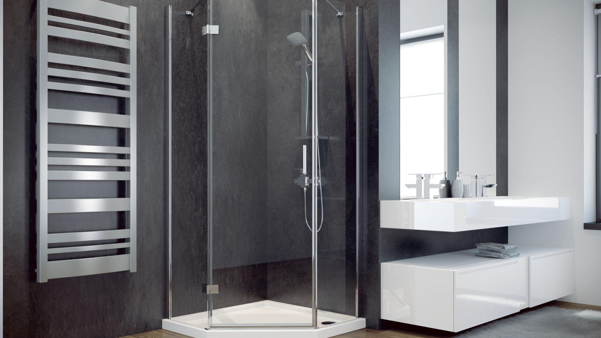 Kabina prysznicowa Viva/Besco. Produkt zgłoszony do konkursu Dobry Design 2018.