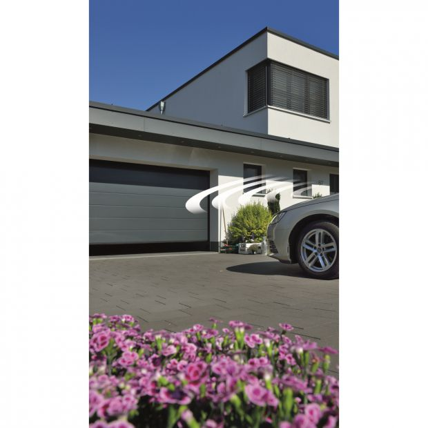 Garażowa brama segmentowa LPU 67 wykonaniu Premium/Hörmann