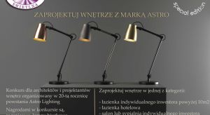 Razem z marką oświetleniową Astro Lighting zapraszamy do wzięcia udziału w konkursie, w którym do wygrania są jedyne w swoim rodzaju lampy.