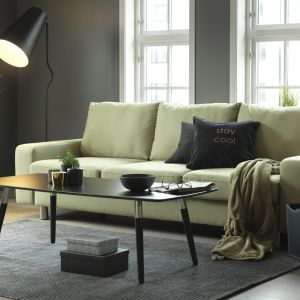 Sofa In Green. Fot. Stressless