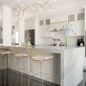 Kuchnia z kamienną wyspą. Fot. Home Concept