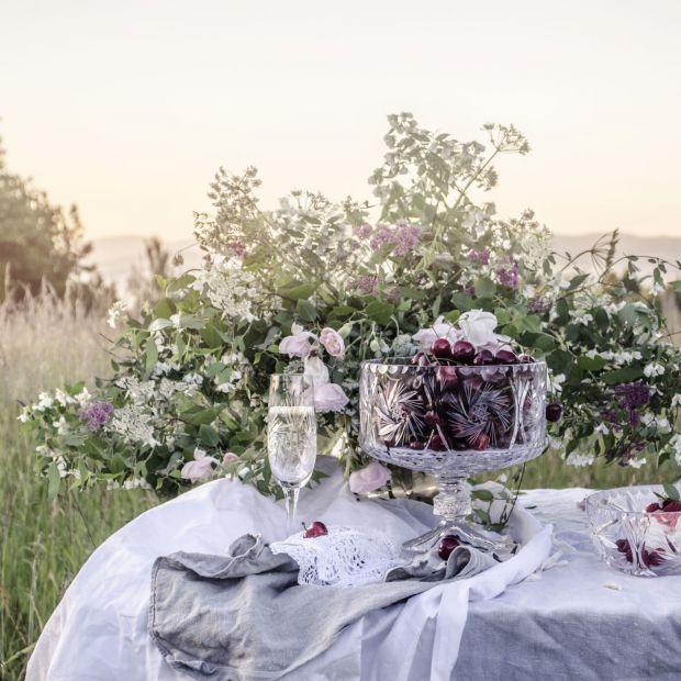 Piękne naczynia do jadalni: powrót kryształowej klasyki