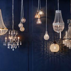 Kryształowe lampy do domu. Fot. Cellbes