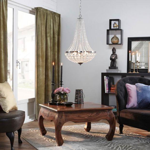 Modne oświetlenie: kryształowy blask w Twoim domu