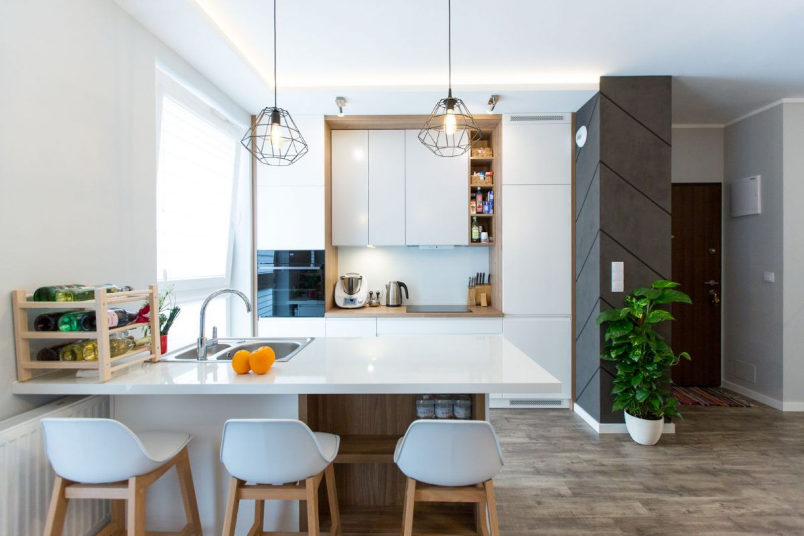 Mieszkanie dla rodziny. Projekt: Malwina Kuzera. Fot. Dekorian