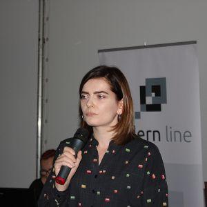Slow living - łazienka od Deante - to temat prezentacji Julity Drozd, zastępcy dyrektora handlowego ds. marketingu marki Deante i Przemysława Kołodziejczyka, product managera tej marki