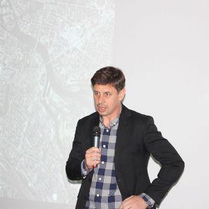 Wykład gościa specjalnego - arch. Zbigniewa Maćkowa, właściciela Pracowni Projektowej Maćków