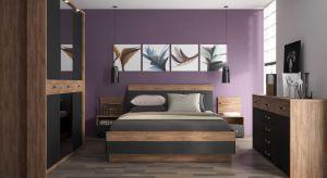 Kolekcja Monaco to elegancka i nietuzinkowa propozycja do sypialni. Korpusy mebli w odcieniu Dębu Stirling Jasny idealnie komponują się z frontami w tym samym kolorze przełamanym czarnym matem. Produkt zgłoszony do konkursu Dobry Design 2018.