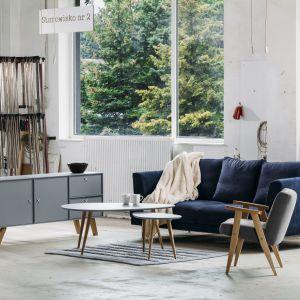 Stolik kawowy w salonie. Fot. Rosanero