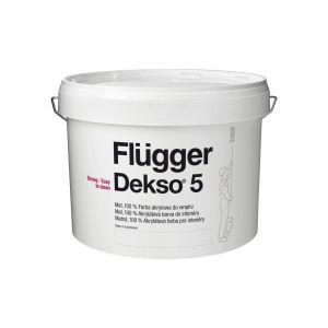 Flügger Dekso 5/Flügger farby. Produkt zgłoszony do konkursu Dobry Design 2018.