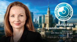 Architekt, współwłaścicielka pracowni WXCA będzie gościem specjalnym spotkania z cyklu Studio Dobrych Rozwiązań, które odbędzie się 10 października w Warszawie.
