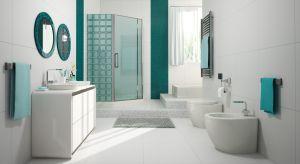 Luksfery to materiał idealnie sprawdzający się w łazienkach. Są stosunkowo niedrogie i łatwo utrzymać je w czystości. A kilkanaście wzorów i kolorów pozwala na stworzenie aranżacji w ulubionym stylu.