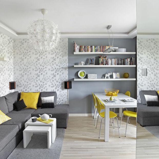 Salon dla rodziny - 10 funkcjonalnych projektów