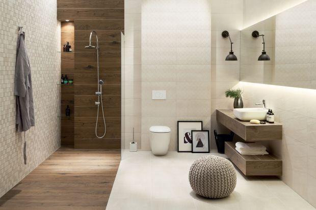 Płytki jak kamień - zobacz nową kolekcję do łazienki