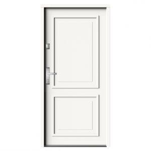 Drzwi wejściowe zewnętrzne antywłamaniowe NTT 60 linia ELITE 3D wzór ELE BERNO/Gerda. Produkt zgłoszony do konkursu Dobry Design 2018.