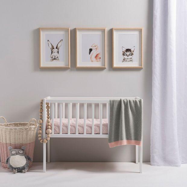 Urządzamy pokój niemowlęcia: piękne kocyki z naturalnych materiałów