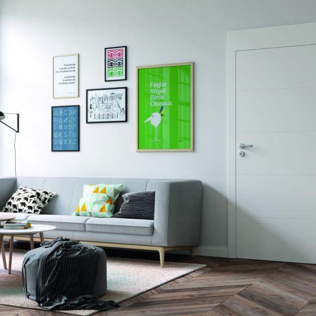 Drzwi wewnętrzne: biel i szkło wciąż na topie