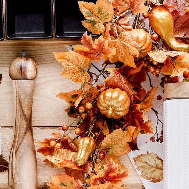 Jesienna aranżacja kuchni: zobacz piękne  dekoracje