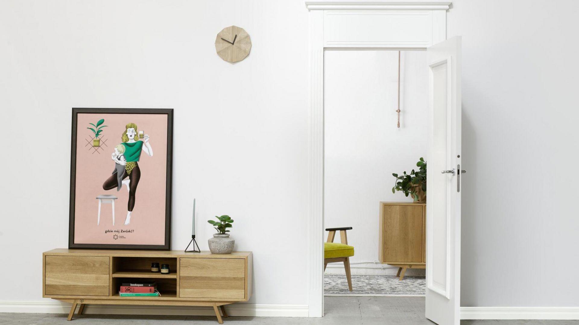 Drzwi do wnętrz w stylu retro, model Fresa. Fot. Inter Door